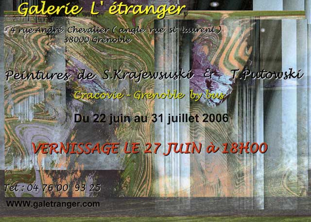Exposition virtuelle www.galetranger.com
